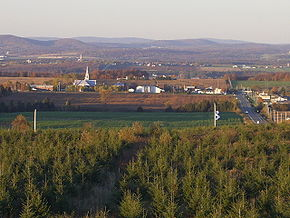 The View of Saint-Georges-de-Windsor today from Wikipedia