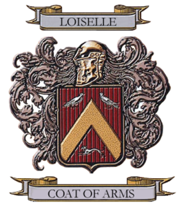 Loiselle Coat of Arms from Tom Loiselle.jpg