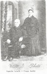 Joseph Trudel and Mathilde Loiselle 1889