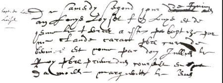 Louis Loysel baptism record